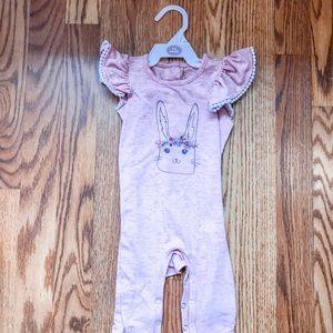 Jessica Simpson bunny pant onesie